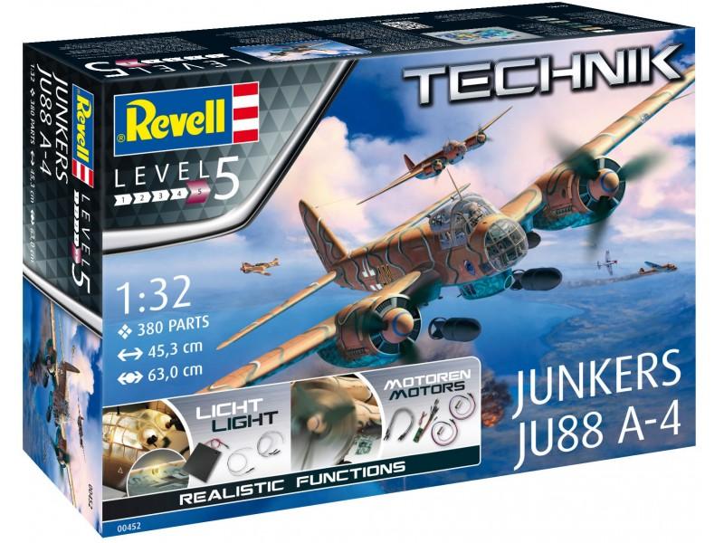 Revell 00452 Junkers JU88 A-4 TECHNIK