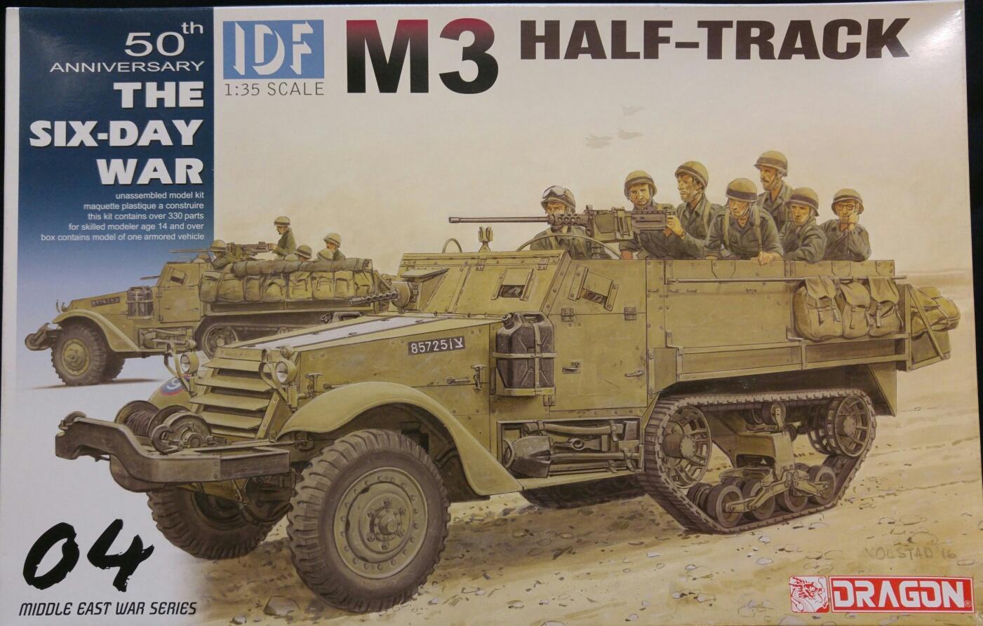 Dragon 3586 IDF M3 Half Track 04