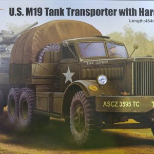 Merit 63501 U.S. M19 Tank Transporter modelbouw