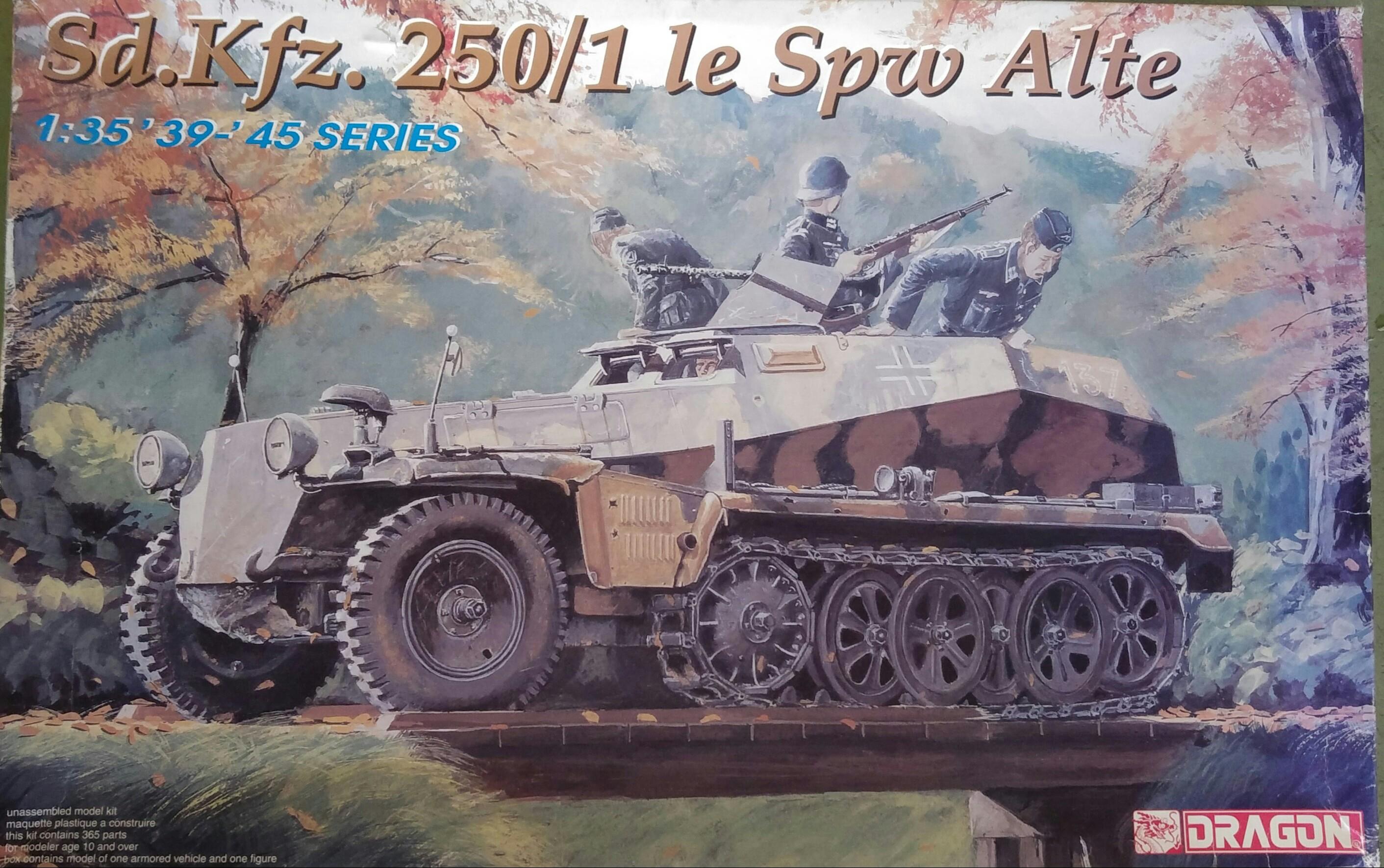 Dragon no. 6117 Sd.Kfz.250/1 le SpW Alte