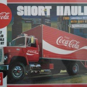 Modelbouw vrachtwagen coca cola