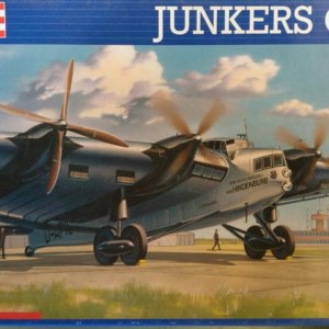 revell modelbouw vliegtuig junkers