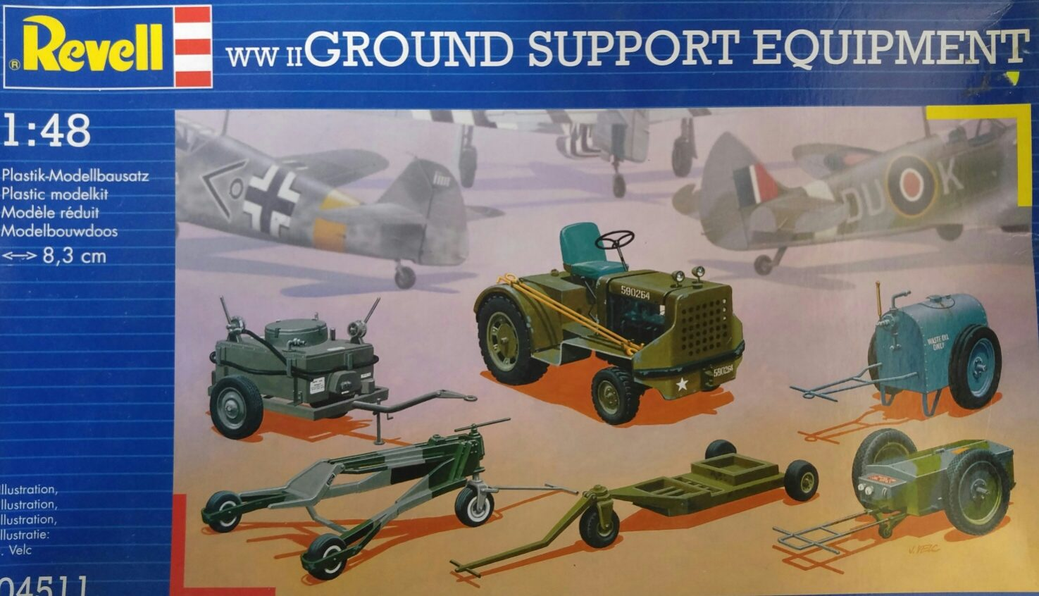 Revell 04511 WWII Ground Support Equipment