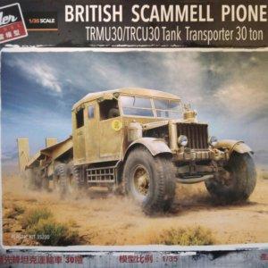 Thunder Model 35200 British Scammell Pioneer Tank Transporter 30 ton