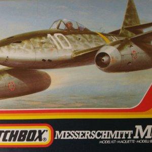Matchbox PK-21 Messerschmitt Me 262 modelbouw