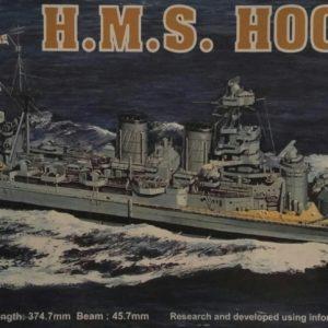 Modelbouw militaire vaartuigen