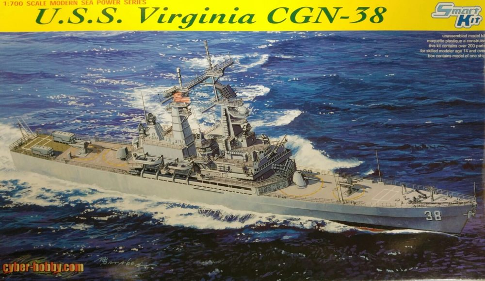 Dragon 7090 U.S.S. Virginia CGN-38