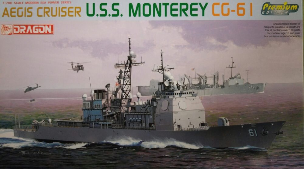 Dragon 7067 U.S.S. Monterey CG-61