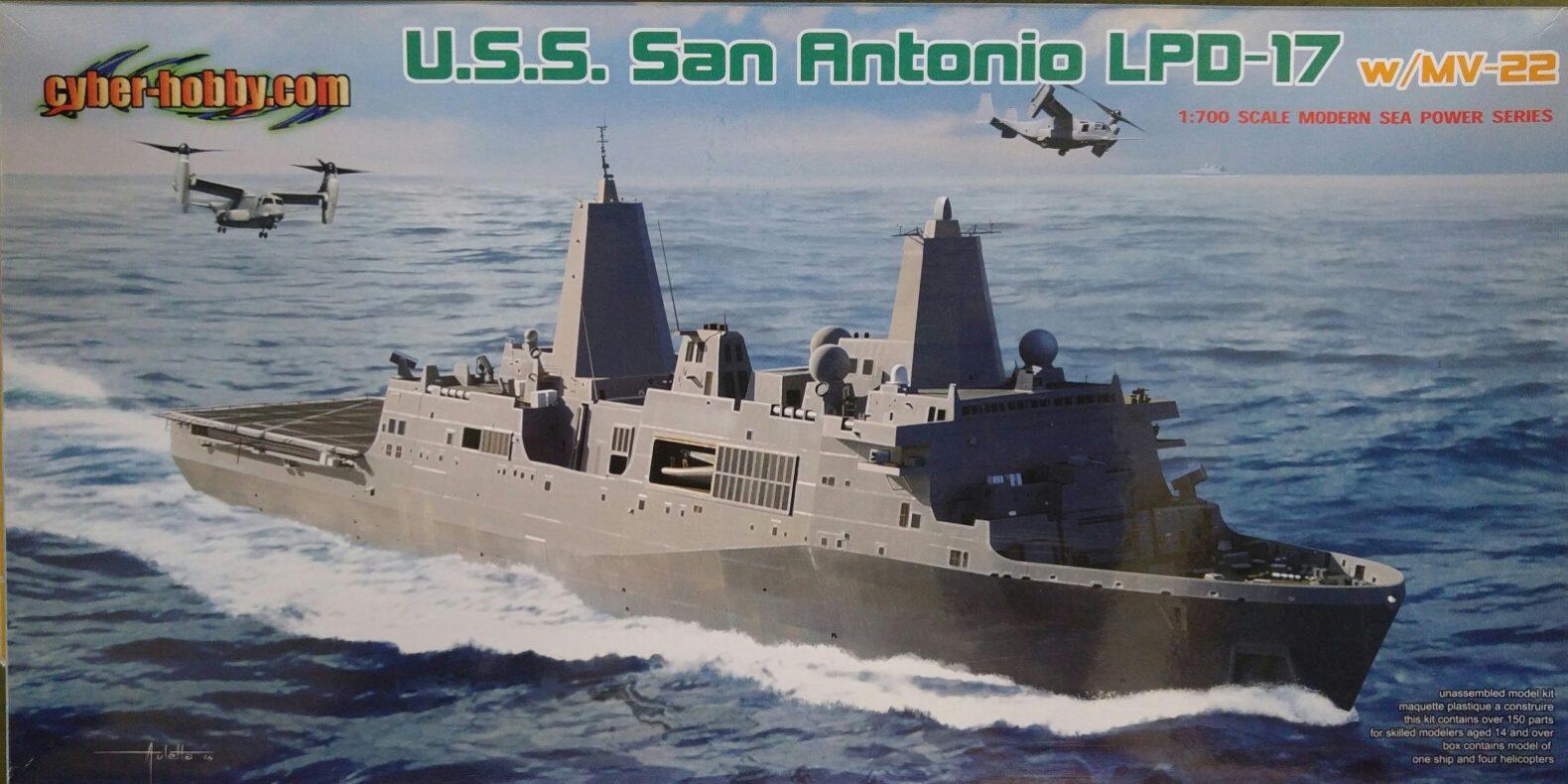 Dragon 7096 U.S.S.San Antonio LPD-17