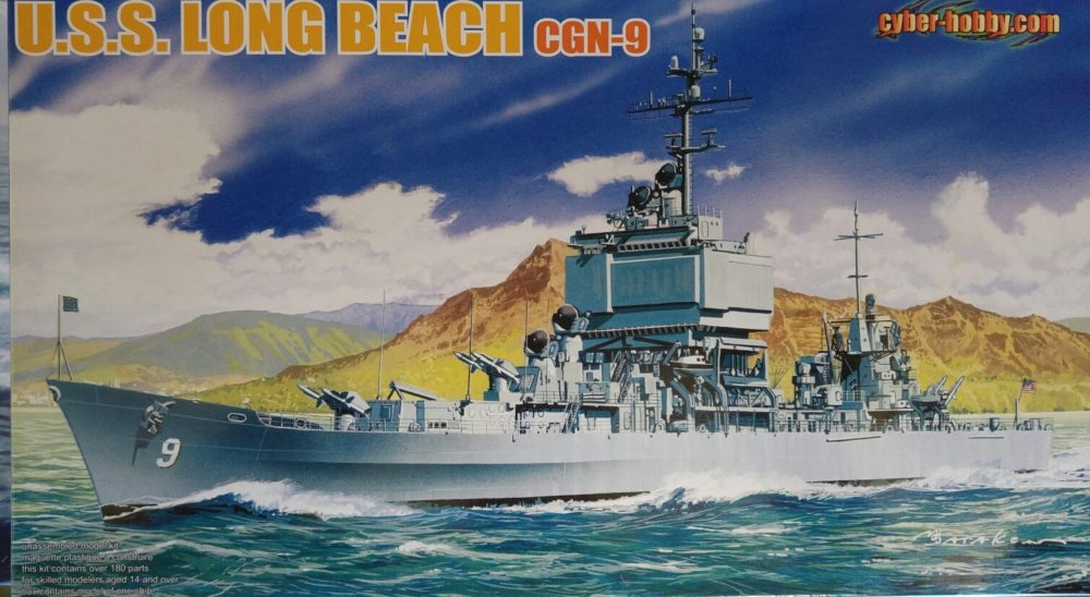 Dragon 7091 U.S.S. Long Beach CGN-9