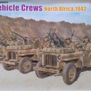 Dragon 6682 SAS vehicle crews modelbouw