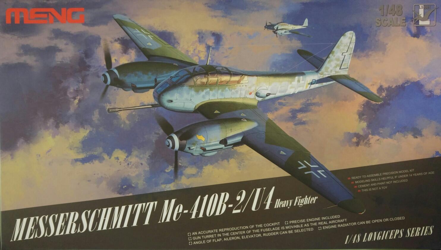 Meng LS-001 Messerschmitt Me-410B -2/U4 Heavy Fighter