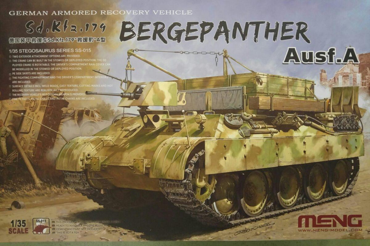 Meng SS-015 Sd.Kfz. 174 Bergepanther Ausf, A