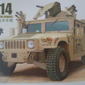 Modelbouw bronco M1114 hummer