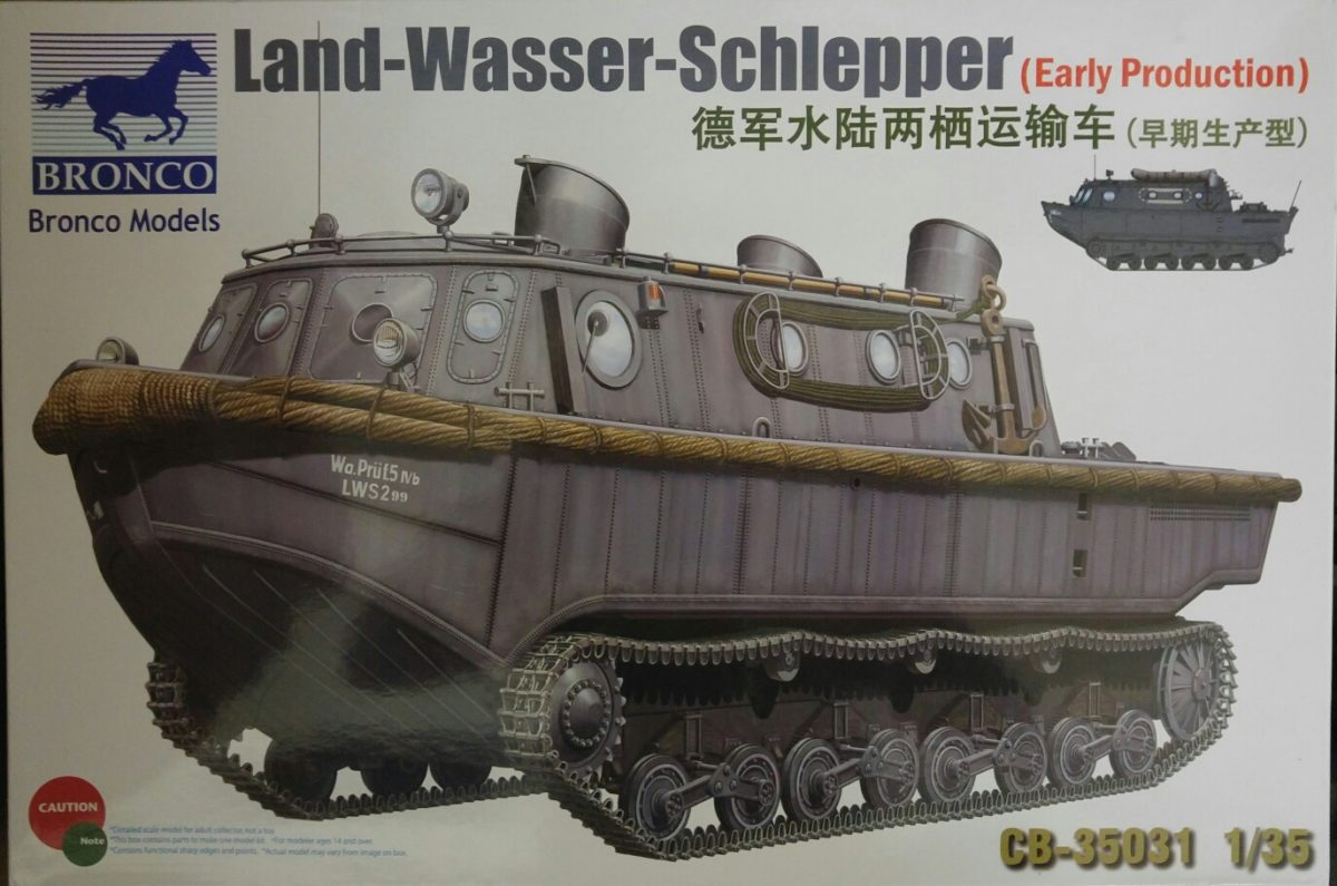Bronco CB35031 Land-Wasser_Schlepper (Early Production)
