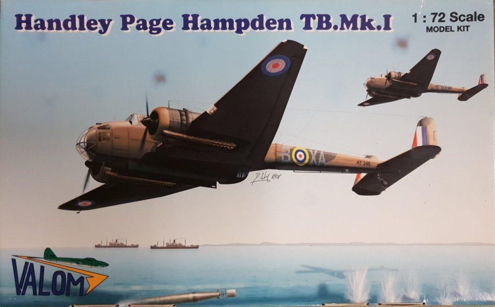 Valom 72042 Handley Page Hampden TB. Mk.I