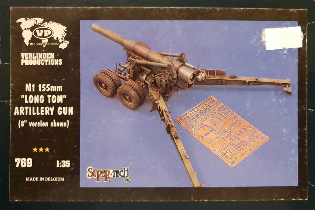 """Verlinden 769 M1 155mm """"Long Tom"""" Artillery Gun"""