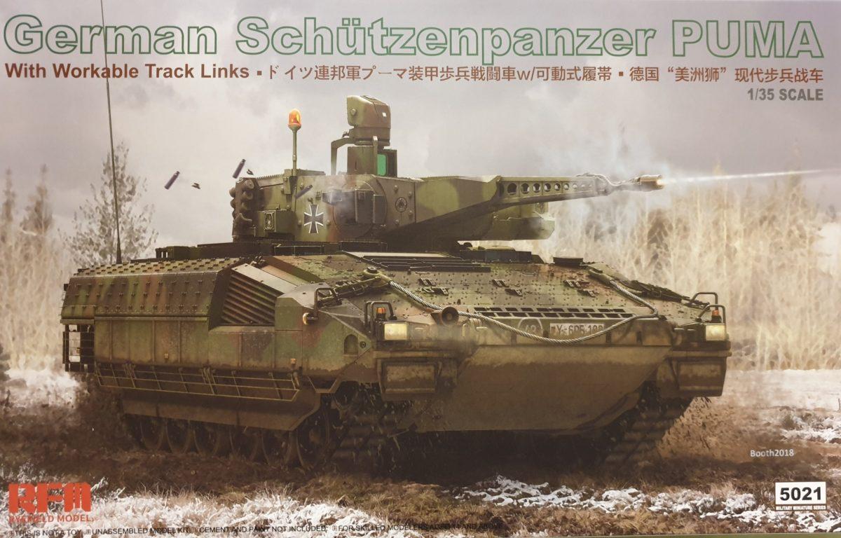 Rye Field Model 5021 German Schützenpanzer PUMA w/ workable tracks