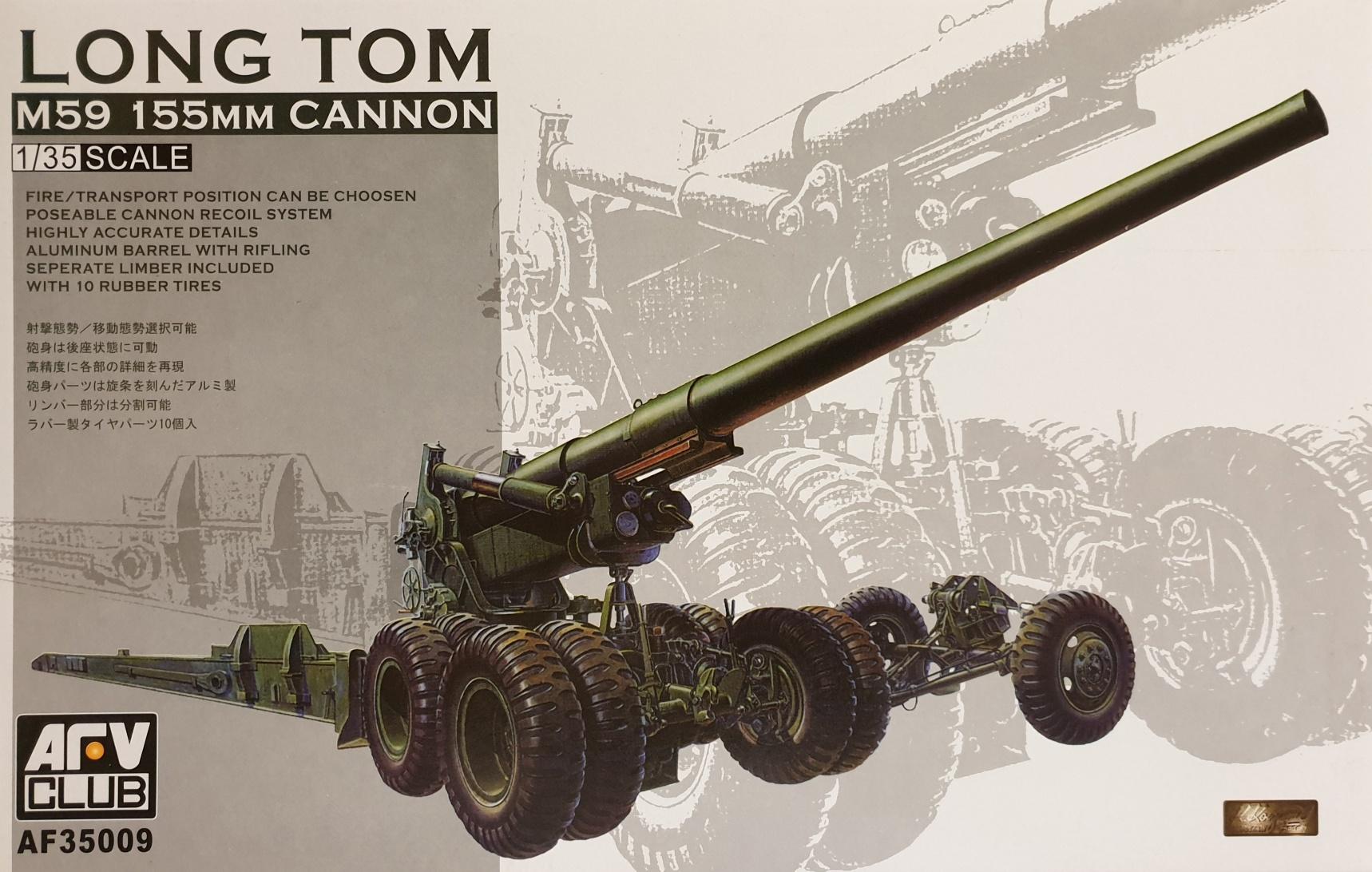 AFV Club 35009 Long Tom M59 155mm Cannon