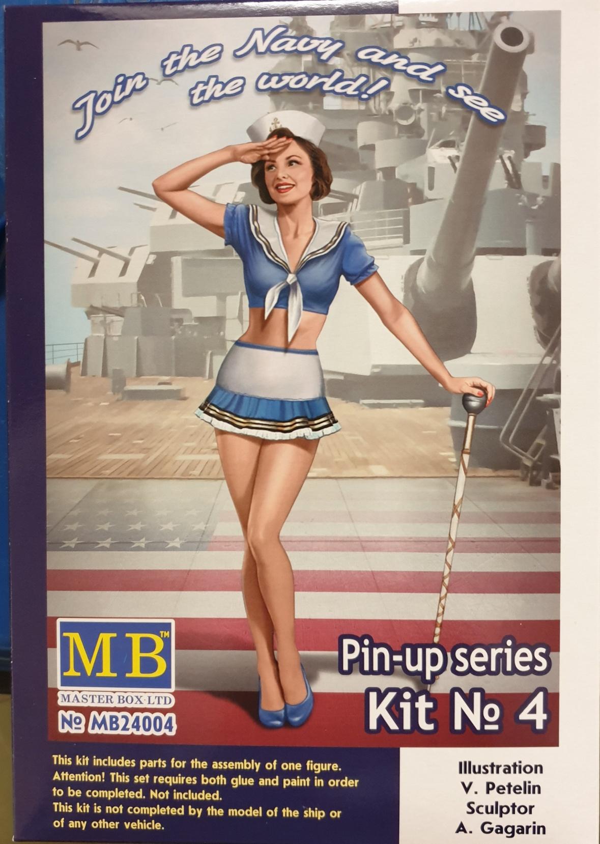 Master Box 24004 Pin-Up series Kit No 4.