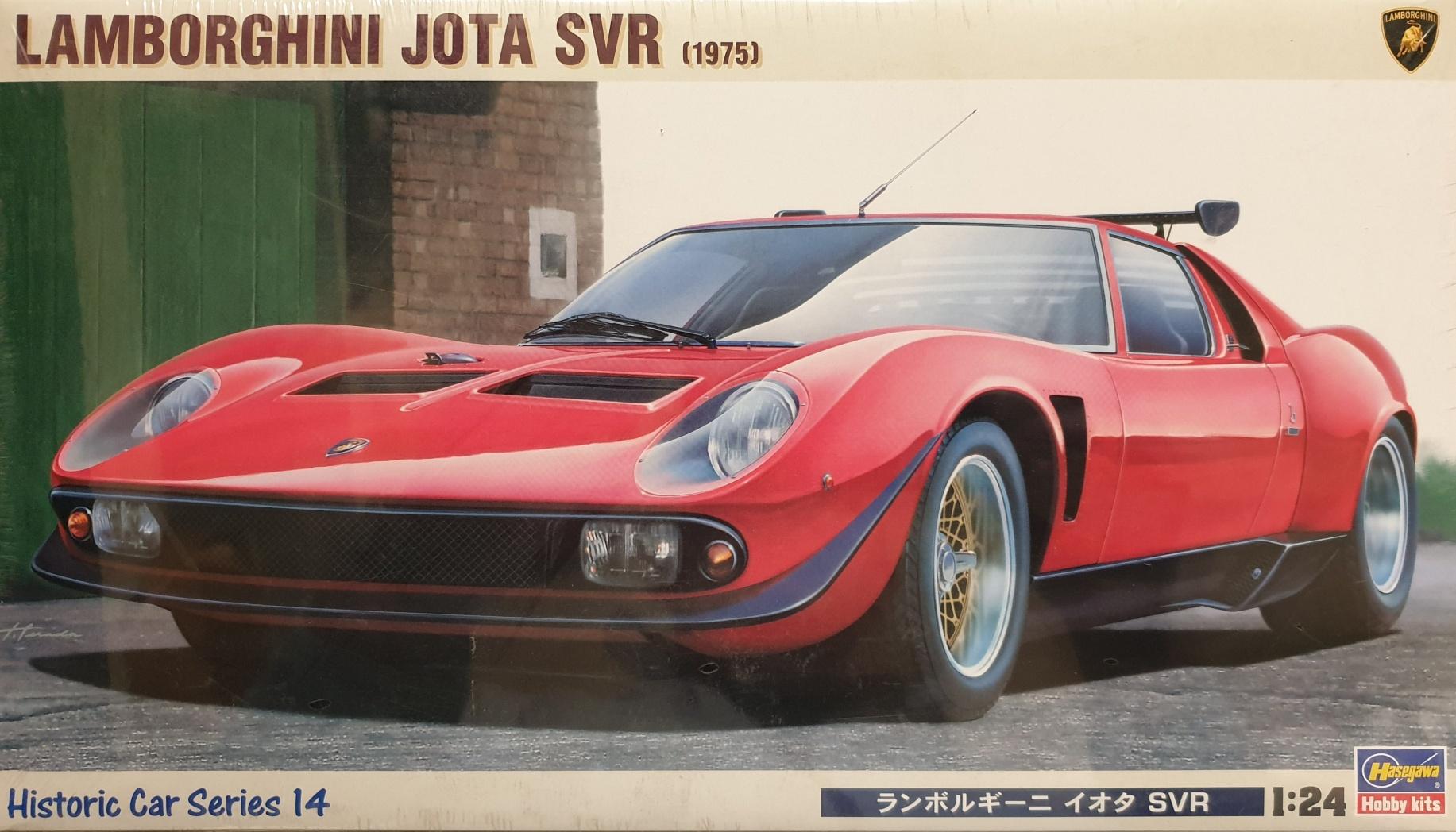 Hasegawa 21214 Lamborghini Jota SVR (1975)