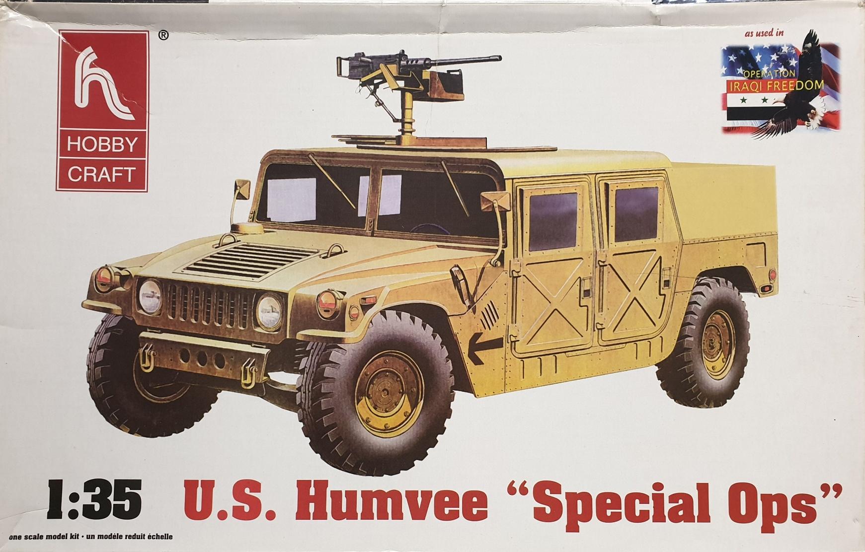 "Hobby Craft HC6011 U.S. Humvee ""Special Ops"""