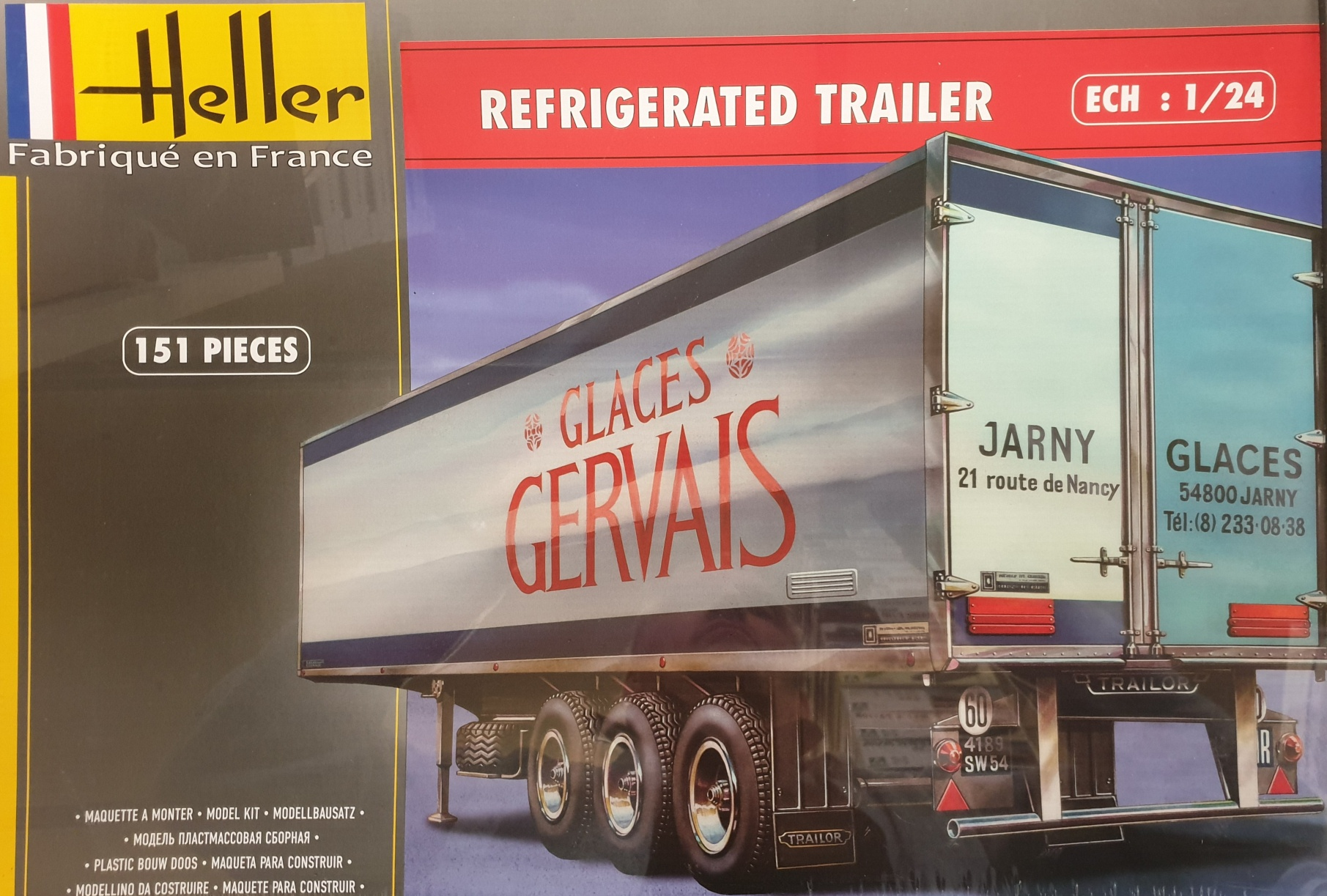 Heller 80776 Refrigerated Trailer