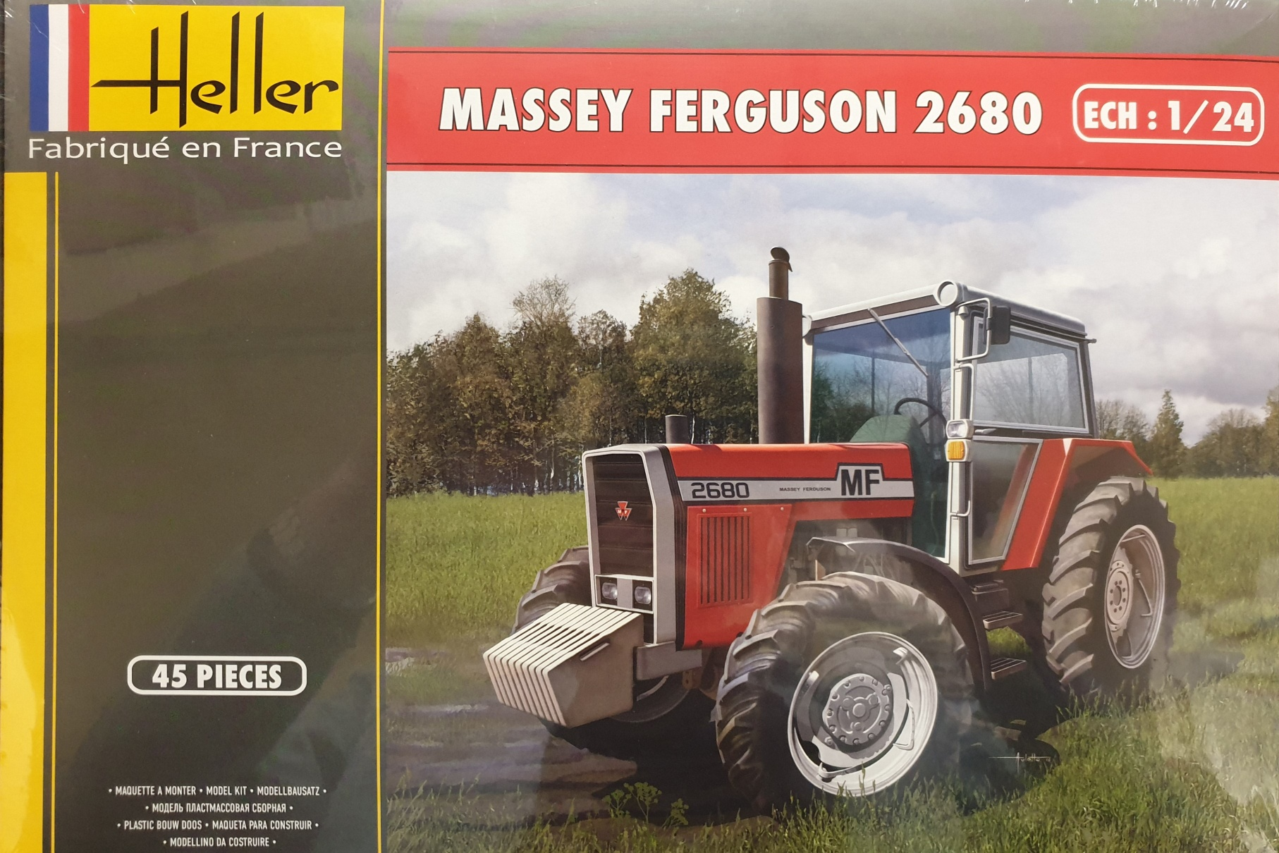 Heller 81402 Massey Ferguson 2680