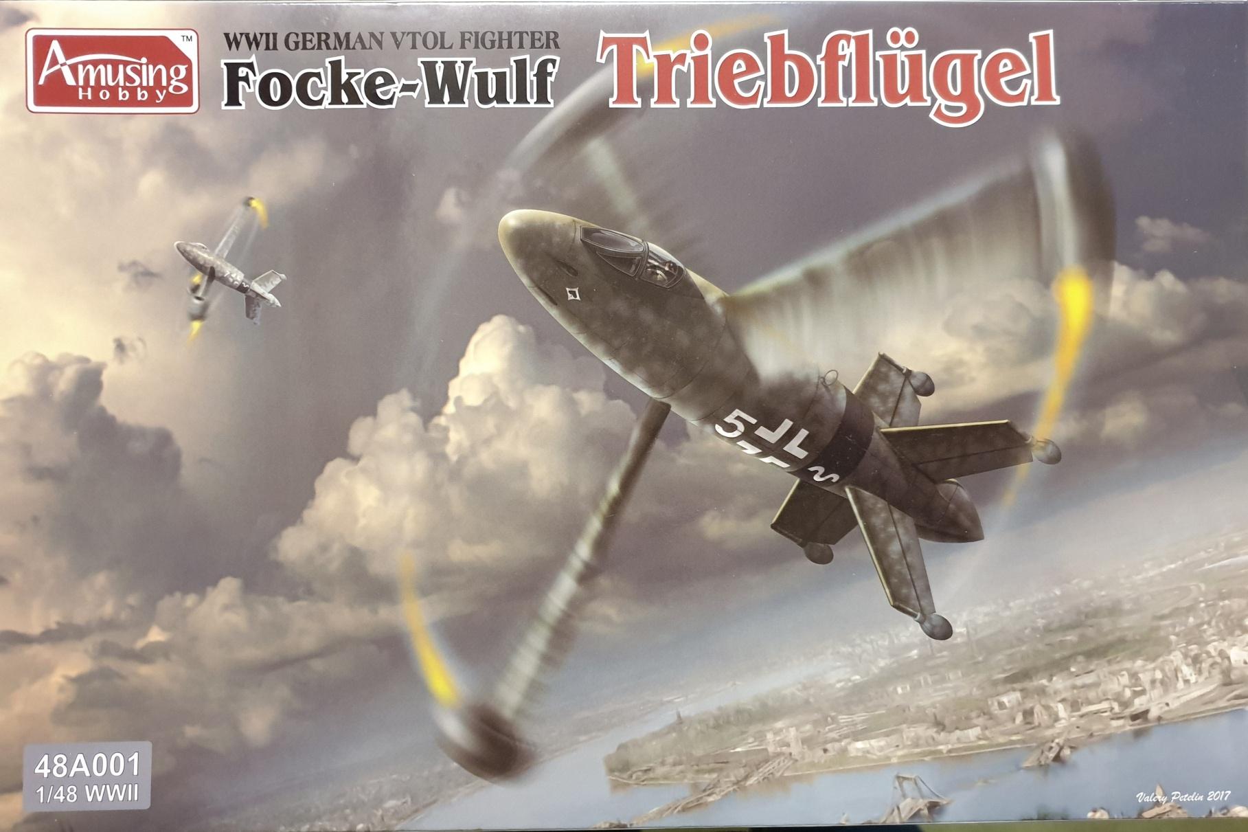 Amusing Hobby 48A001 Focke-Wulf Triebflügel