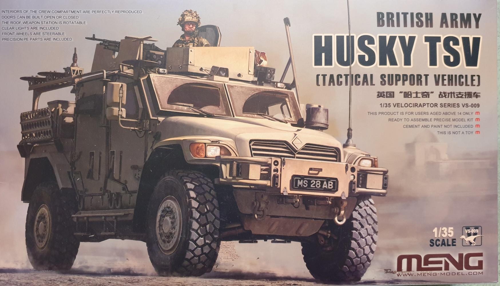 Meng VS-009 Husky TSV British Army