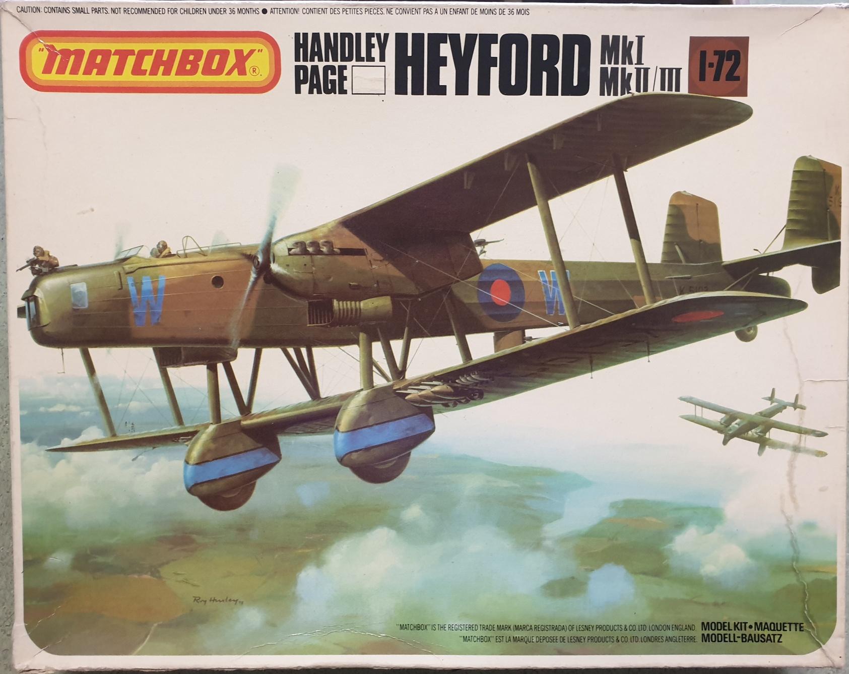 2 Matchbox PK-605 Handley Page Heyford
