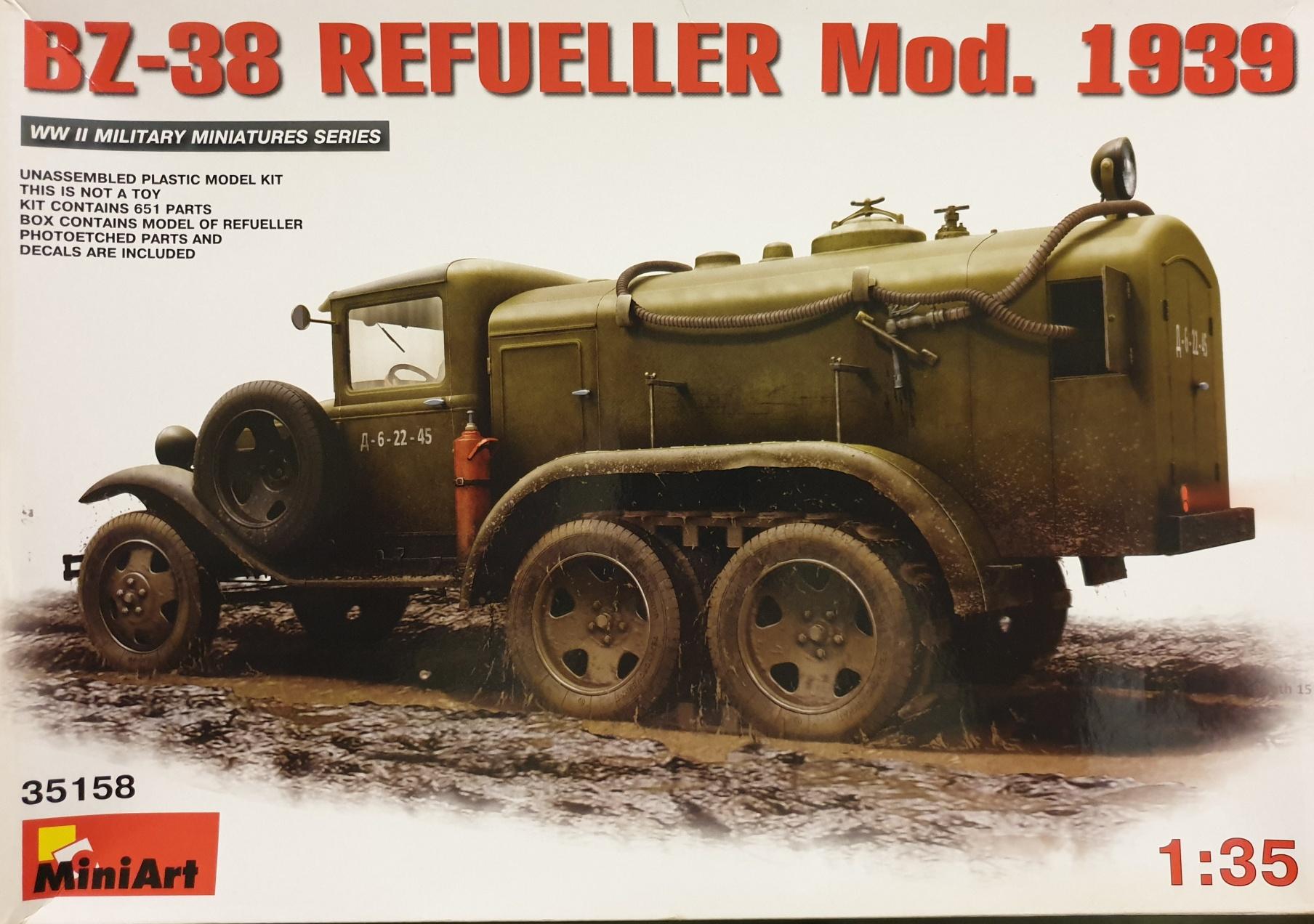 MiniArt 35158 BZ-38 Refueller Mod. 1939