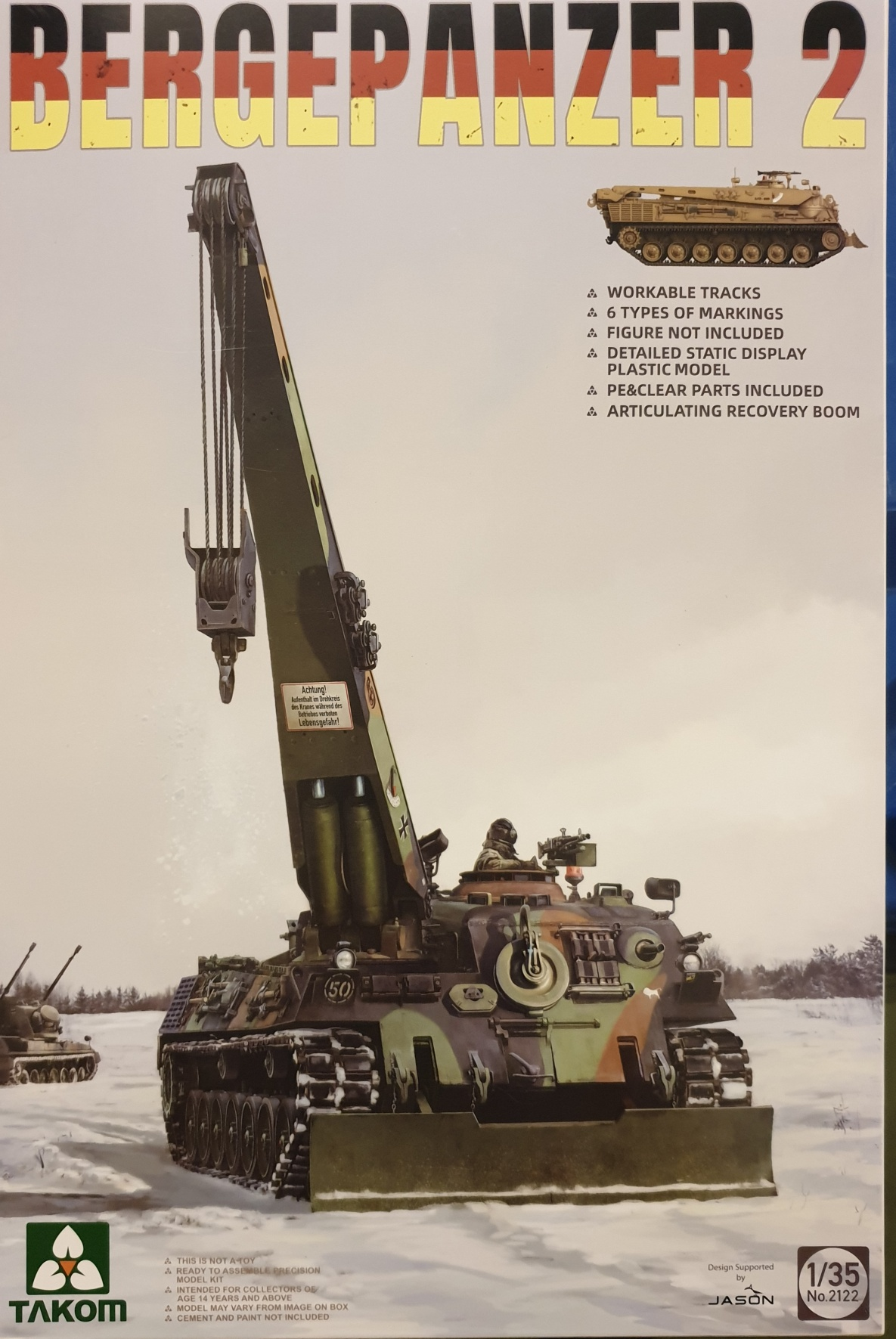 01 Takom 2122 Bergepanzer 2