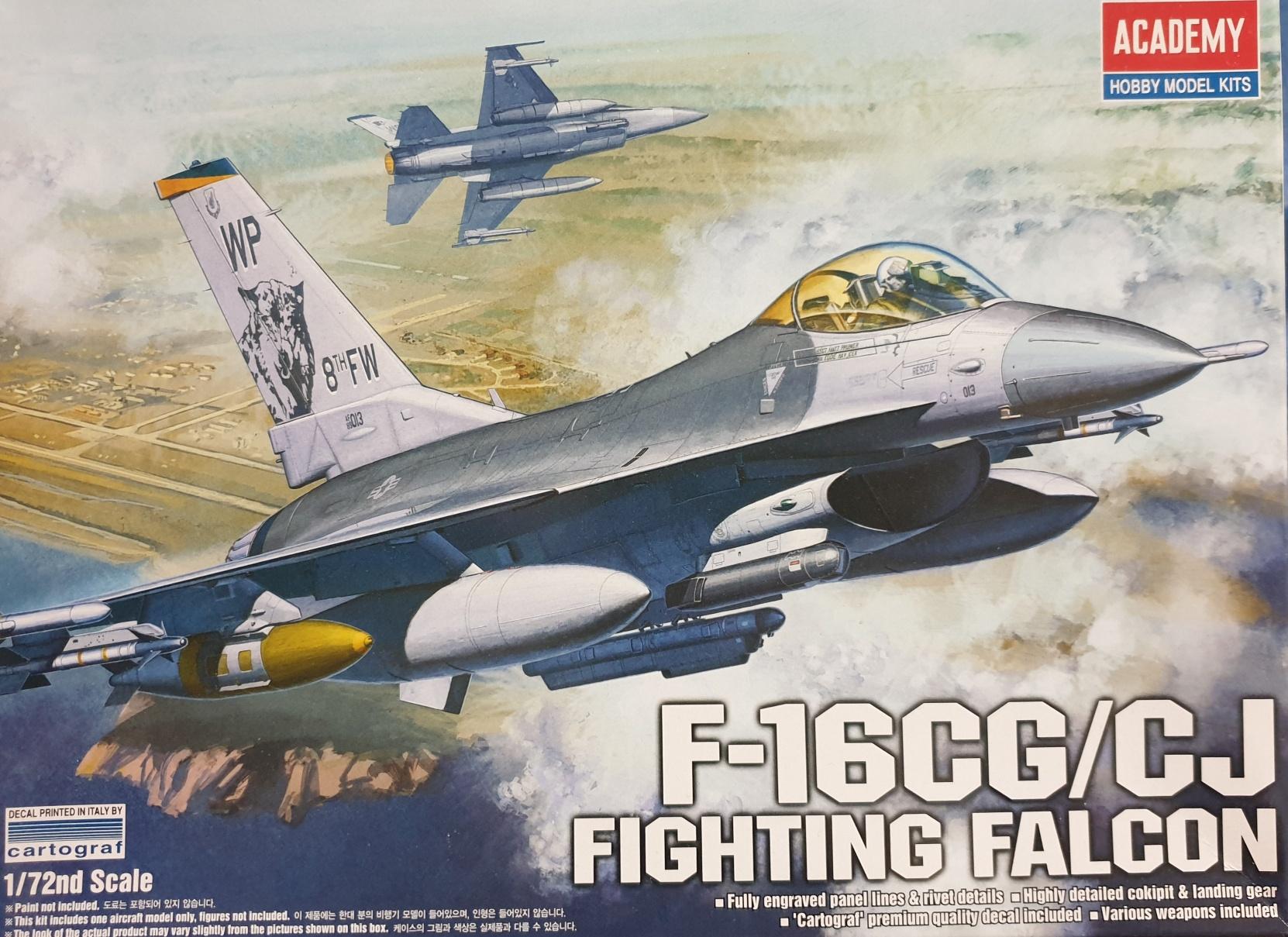 5 Academy 12415 F-16 CG / CJ Fighting Falcon