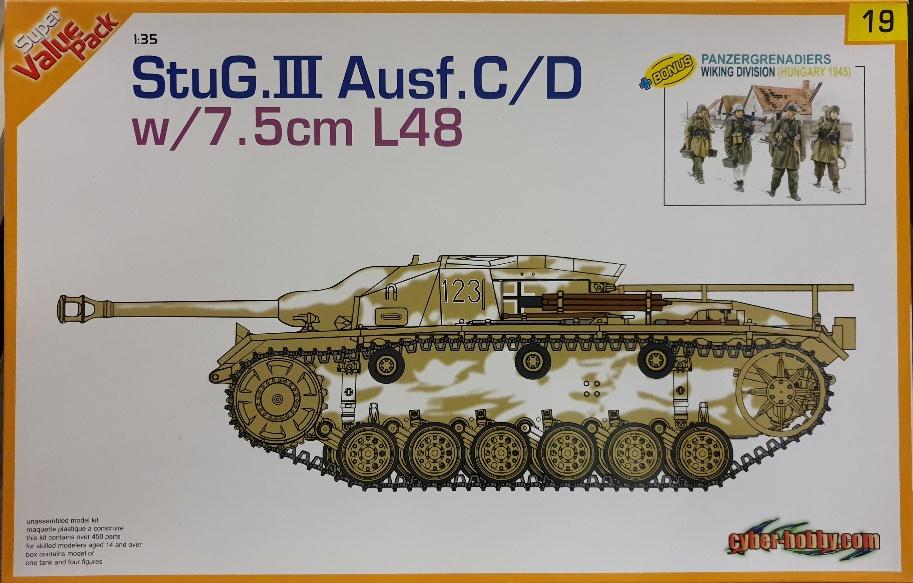 5 Dragon 9119 StuG III Ausf. C/D w/ 7.5cm L48 + bonus