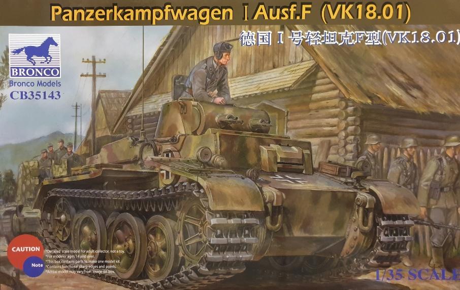 Bronco CB-35143 Panzerkampfwagen I Ausf. F