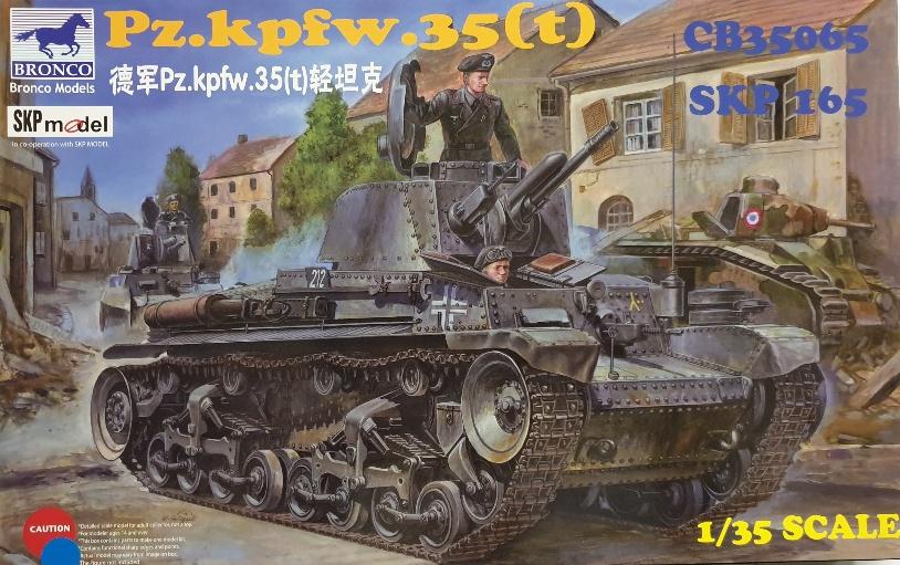 Bronco CB-35065 Pz.kpfw. 35(t)