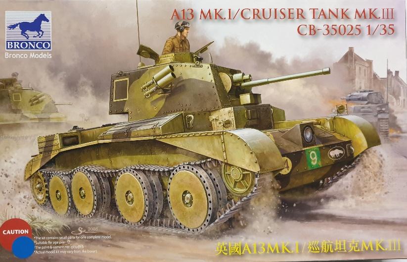 Bronco CB-35025 A13 MK.I / Cruiser Tank MK.III