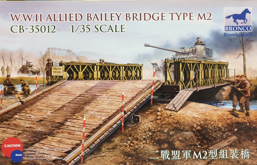 Bronco  CB-35012 WWII Allied Bailey Bridge