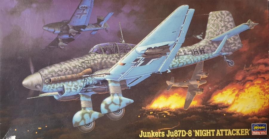 """Hasegawa 09279 Junkers Ju87D-8 """"Night Attacker"""""""