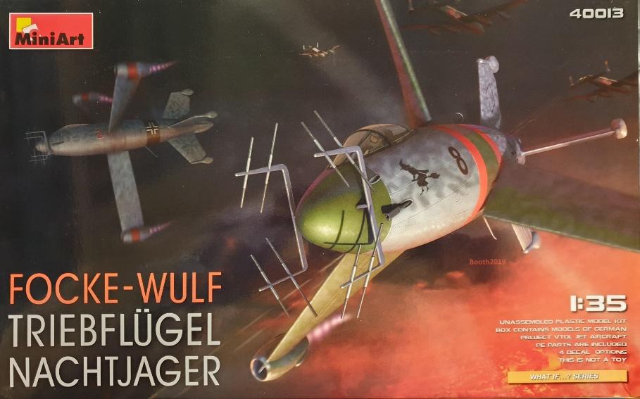 MiniArt 40013 Focke-Wulf Triebflügel Nachtjager