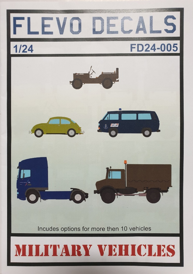 Flevo Decals FD24-005 Military Vehicles