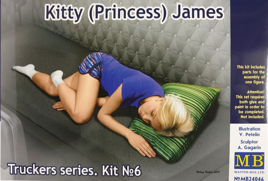 Master Box 24046 Kitty (Princess) James