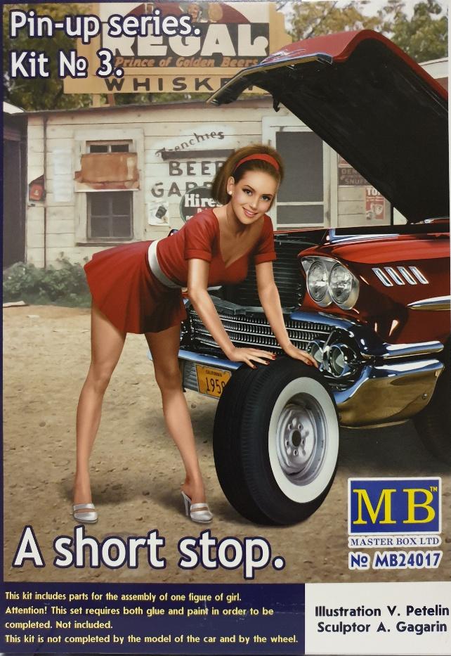Master Box 24017 Pin-Up series Kit No 3.A Short Stop