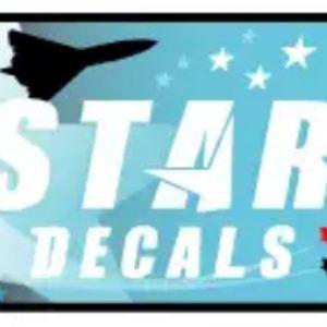 Star decals
