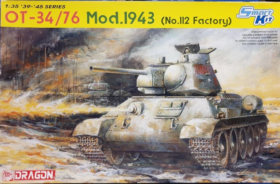 Dragon 6614 OT-34/76 Mod. 1943 (no.112 Factory)