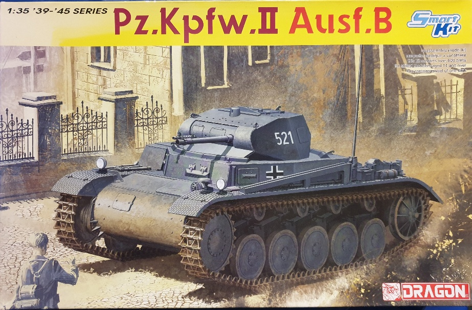 Dragon 6572 Pz.Kpfw. II Ausf. B Smart Kit