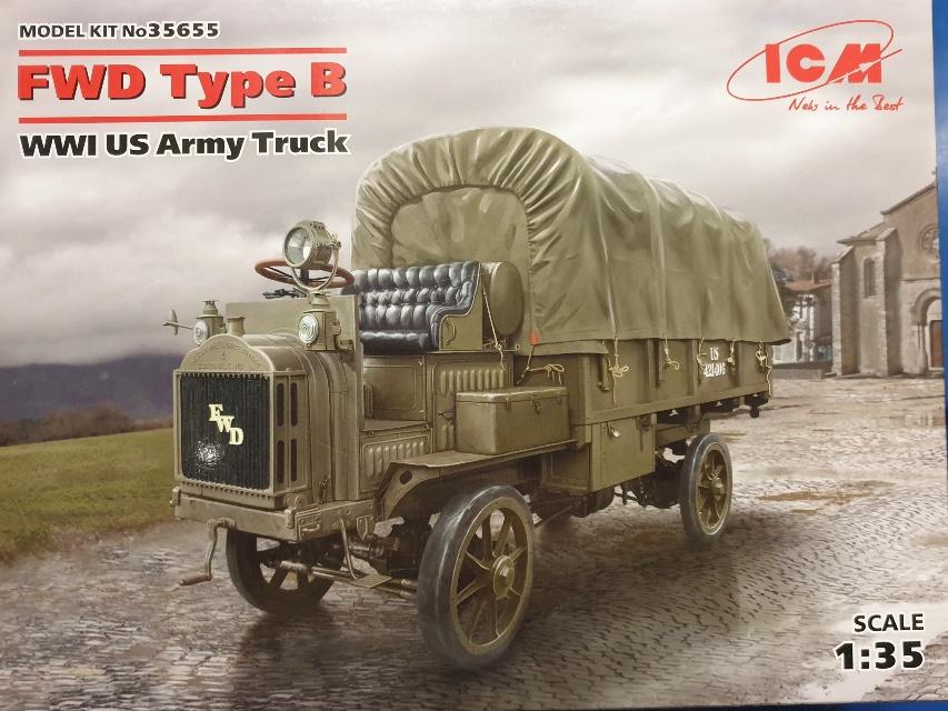 ICM 35655 FWD Type B WWI US Army Truck