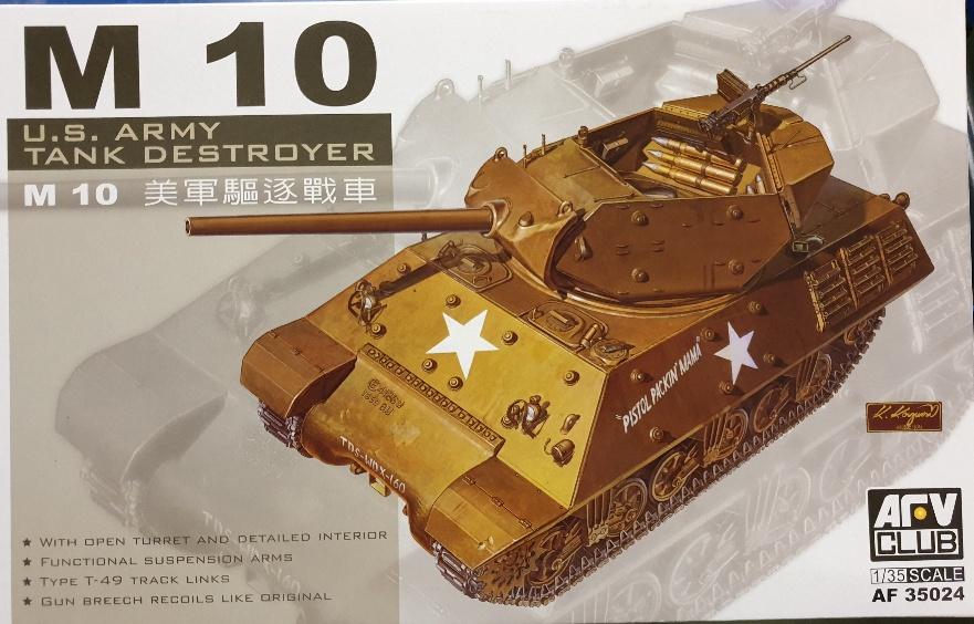 AFV Club AF 35024 M10 U.S. Army Tank Destroyer