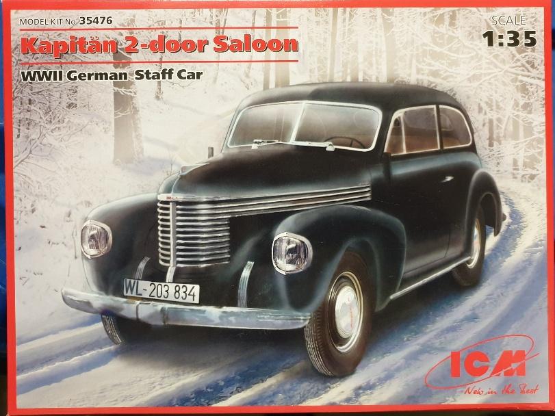 ICM 35476 Kapitän 2-door Saloon WWII German Staff Car